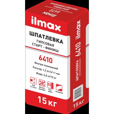 ILMAX 6410 шпатлевка для вн. работ, 15 кг. Старт-Финиш гипсовая
