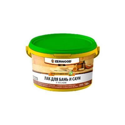 Лак для бань и саун ZERWOOD LBS 0,9 кг