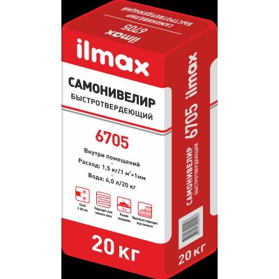 Ilmax 6705 Самонивелир стяжек гипсовая, 20кг.