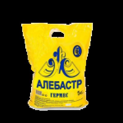 Алебастр белый 25кг (50)/СТС