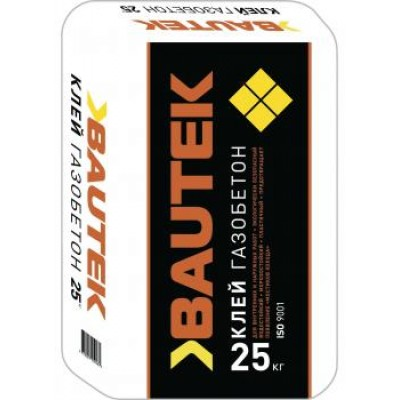 Клей «Газобетон» «BAUTEK» 25 кг