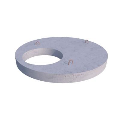Плита перекрытия (крышка) колодца ПП10.1