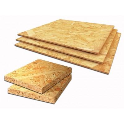 Плита древесная OSB-3 10-1250-2500мм kronospan