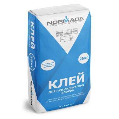 Клей для газосиликатных блоков NORMADA 25кг